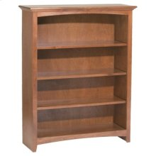 """GAC 48""""H x 36""""W McKenzie Alder Bookcase"""