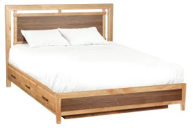 DUET Addison Cal-King Panel Storage Bed