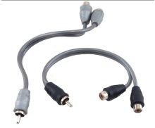 RCA Y-Adapter 1 male 2 female
