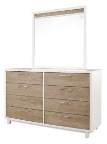 Gardomi - White/Light Brown 2 Piece Bedroom Set