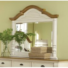 Oleta Buttermilk Dresser Mirror