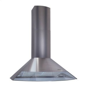 "BROAN35-7/16"" (90cm), Stainless Steel, Chimney Hood, Internal Blower, 450 CFM"