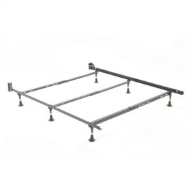 Nautilus H2034 Adjustable Waterbed Frame with Reversible Headboard Brackets and (6) Leg Glides, Twin / Full