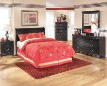 Ashley Louis Phillipe Style Full Sleigh Bed