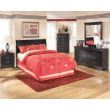 Ashley Louis Phillipe Style Full Sleigh Bed