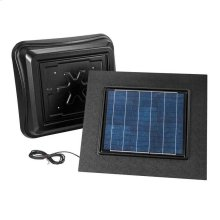 Remote Mount, Solar Powered Attic Ventilator in Black