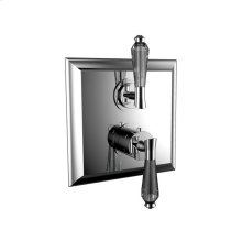 """7097dc-tm - 1/2"""" Thermostatic Trim With Volume Control and 2-way Diverter in Polished Chrome"""