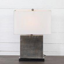 Antique Pewter Finish Jasmine Table Lamp
