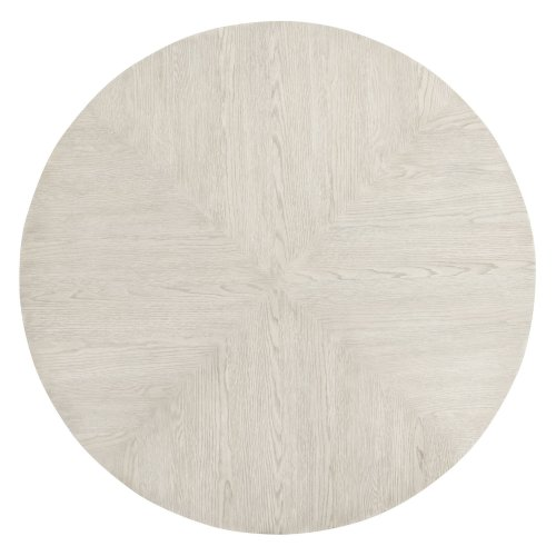 Domaine Blanc Round Dining Table in Dove White (374)