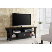 Transitional Cappuccino TV Console Product Image