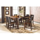 Larchmont - Burnished Dark Brown 7 Piece Dining Room Set Product Image
