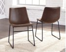 Centiar - Two-tone Brown Set Of 2 Dining Room Chairs Product Image