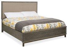 Bedroom Annex Queen Platform Upholstered Panel Bed