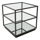 Kure End Table Distressed Black Product Image
