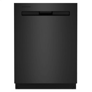 MaytagTop control dishwasher with Third Level Rack and Dual Power filtration Cast Iron Black