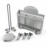 BoschDishwasher Accessory Kit with Extra Tall Item Sprinkler, Vase/Bottle Holder, 3 Plastic Item Clips and Small Item Basket - Ascenta