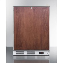 Commercial ADA Compliant Built-in Medical All-freezer With Lock, Capable of -25 C Operation; Door Accepts Slide-in Panels
