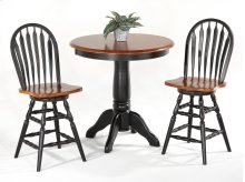 Contour Arrow Back Counter Stool