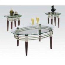 Marseille Avalon 3pc Table Set