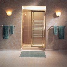 Alcove Shower Base  48x34  American Standard - Bone