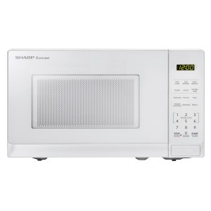 Sharp Appliances0.7 cu. ft. 700W Sharp White Carousel Countertop Microwave Oven