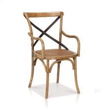 Reva Cross-Back Arm Chair