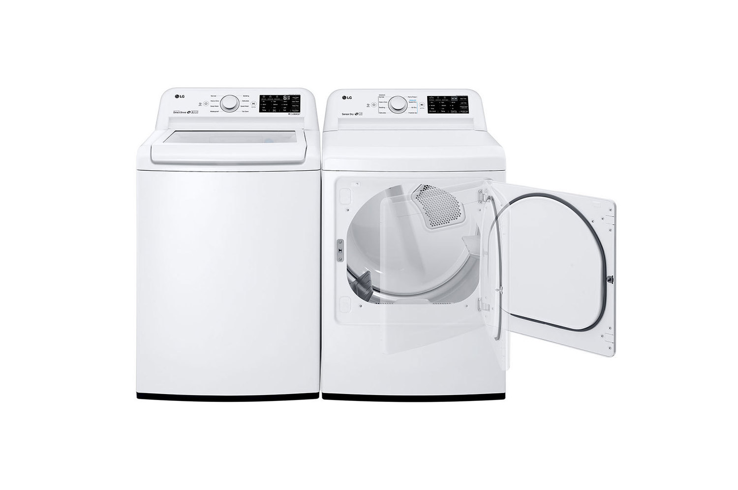WT7100CW LG Appliances 4 5 cu  ft  Top Load Washer WHITE (W