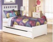 Lulu - White 5 Piece Bed Set (Twin)