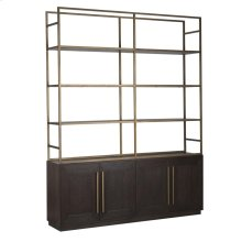 Madrid 4Dr Bookcase