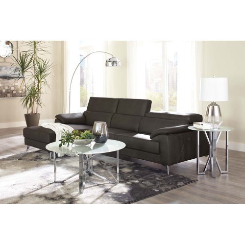 Tindell Sectional Gray Left