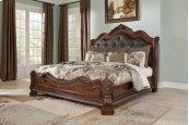 Ledelle - Brown 3 Piece Bed Set (Cal King)