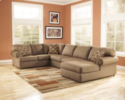 Cowan - Mocha 3 Piece Sectional