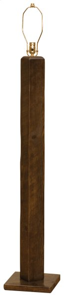 Frontier Floor Lamp - Barn Brown - without Lamp Shade Product Image