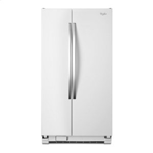 33-inch Wide Large Side-by-Side Refrigerator with Greater Capacity and Adaptive Defrost - 22 cu. ft. - WHITE ICE