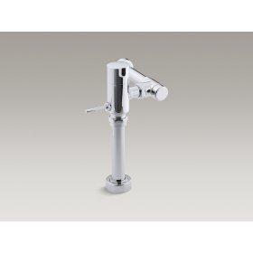 Polished Chrome Manual Toilet 1.6 Gpf-retrofit Flushometer Valve