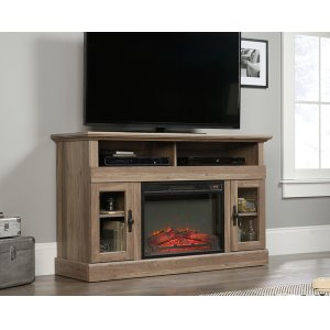 SauderEntertainment/Fireplace Credenza