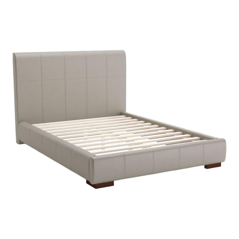 Amelie Full Bed Gray