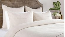 Elara White King Quilt 4Pc Set
