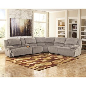 Ashley Furniture Toletta - Granite 6 Piece Sectional