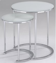 !nspire Oslo 2pc Accent Table In White