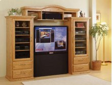 9200 Traditional 3piece Wall Unit