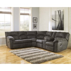 Ashley Furniture Tambo - Pewter 2 Piece Sectional