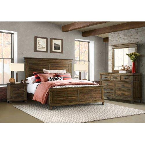 Queen Panel Standard Bed