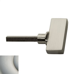 Satin Nickel with Lifetime Finish TK006 Turn Knob