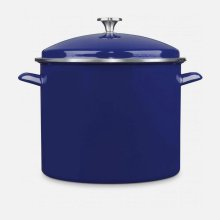 Chef Classic Enamel on Steel Cookware 16 Quart Stockpot with Cover