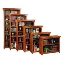 "Mission Oak 24"" Standard Bookcase"