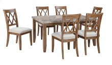 Narvilla - Light Brown 5 Piece Dining Room Set