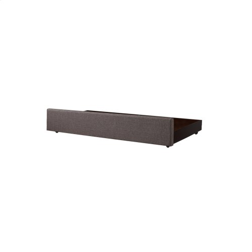 Balboa Wood Roll Out Trundle Drawer for Daybed, Pebble Gray Finish, Twin