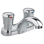 American StandardMetering 4-inch Centerset Commercial Faucet - 0.5 gpm - Polished Chrome