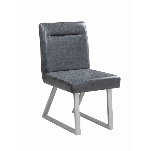 Contemporary Grey Dining Chair